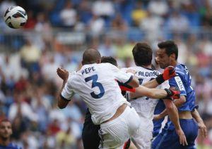 Imagen del Real Madrid-Valencia. Foto: Reuters