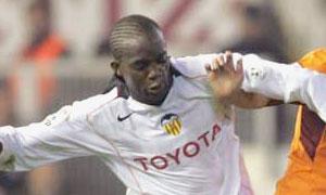 Sissoko, durante su etapa en Valencia. FOTO:somosche.com