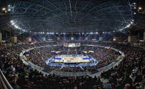 El Buesa Arena, sede de la Copa 2013. FOTO:abc.es