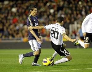 Imagen del Valencia-Real Madrid. FOTO:ligafutbol.net