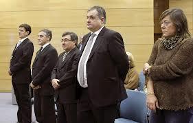 Los cinco acusados. FOTO:www.20minutos.es