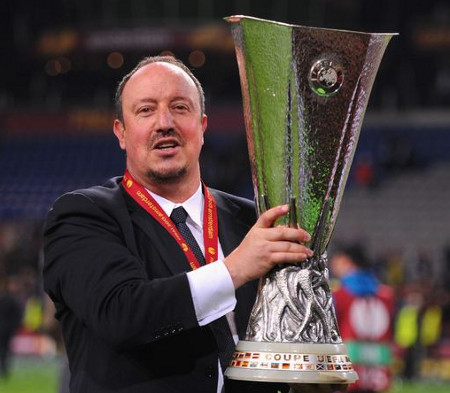 Rafa Benítez. FOTO:mirror.co.uk