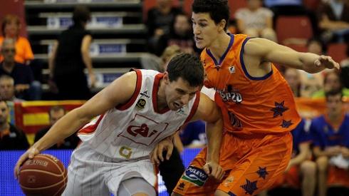 Imagen del Valencia Basket-CAI Zaragoza. FOTO: rtve.es