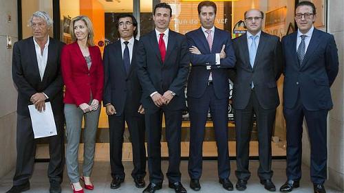 El nuevo Consejo de Administración del Valencia CF, al completo. FOTO:actualidades.es
