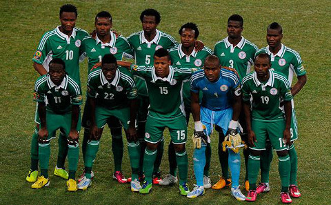 Once inicial de Nigeria.