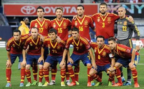 Un once inicial de España. FOTO:sport.es