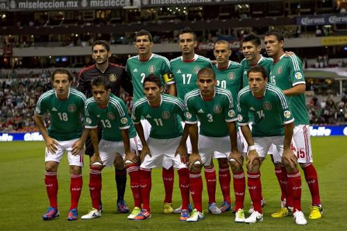 Una alineación de México.