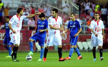 Imagen del último Sevilla-Valencia. FOTO:goal.com