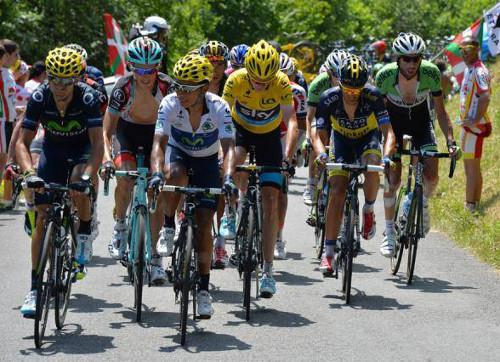 Imagen de una etapa del Tour de Francia 2013. FOTO:noticiasyocio.es