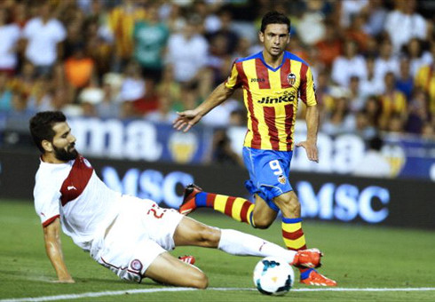 Helder Postiga, fichaje estrella del Valencia CF