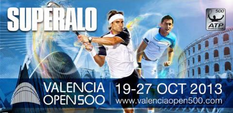 Cartel del Valencia Open 500.