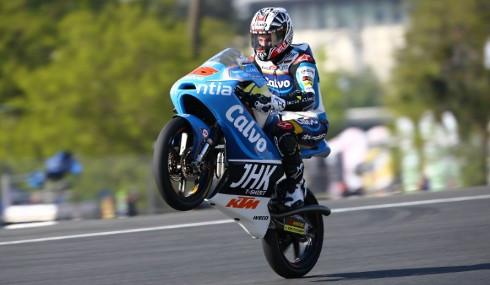 Maverick Viñales, campeón del mundo de Moto3.
