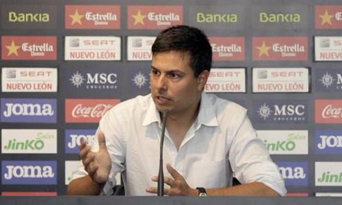 Nico Estévez, nuevo entrenador del Valencia CF.
