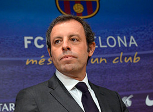 El ya ex presidente del FC Barcelona, Sandro Rosell.
