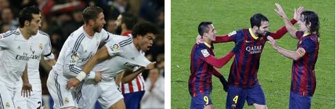 Real Madrid y Barcelona disputarán la 113ª final de la Copa del Rey.