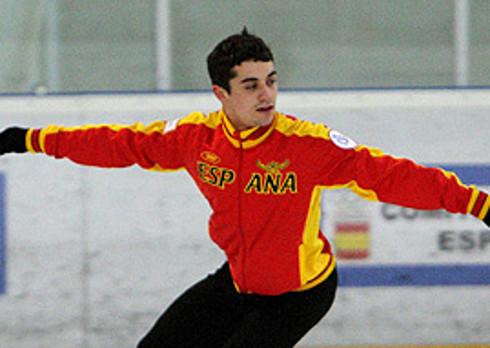 El patinador español Javier Fernández.