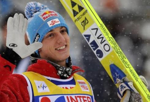 El saltador austríaco Gregor Schlierenzauer.