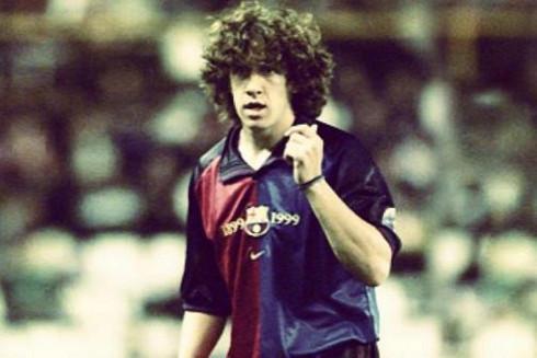 Imagen de Puyol el día de su debut en Valladolid.