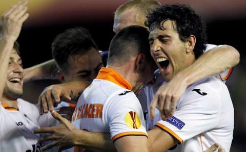 Remontada histórica del Valencia CF ante el Basilea suizo. FOTO:ole.com.ar