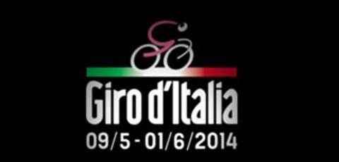 Logo del Giro de Italia 2014