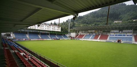 Imagen del estadio de Ipurua, feudo del Eibar.