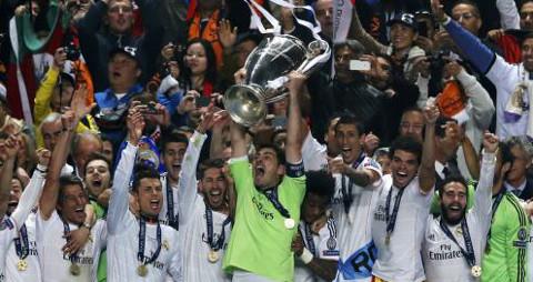 El Real Madrid ganó su décima Copa de Europa.