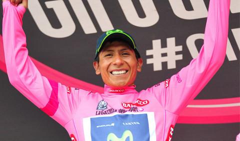 El ciclista colombiano Nairo Quintana.