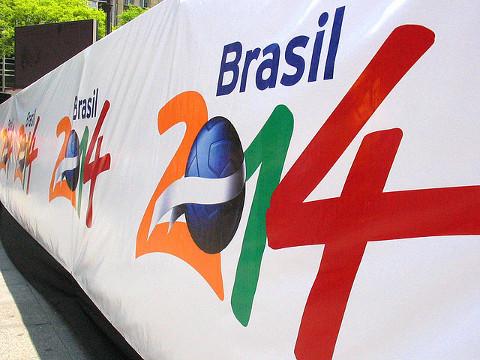 Logo del Mundial de Brasil 2014. FOTO: flickr.com