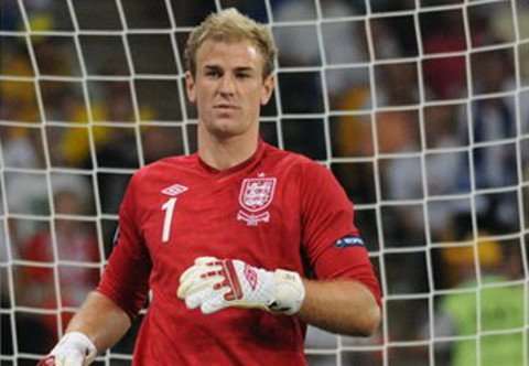 Joe Hart, portero de la selección de Inglaterra. FOTO: commons.wikimedia.org