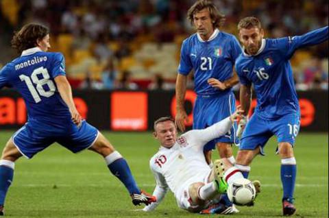 Imagen del Inglaterra-Italia.
