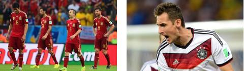 Decepcionante España e histórico Klose.