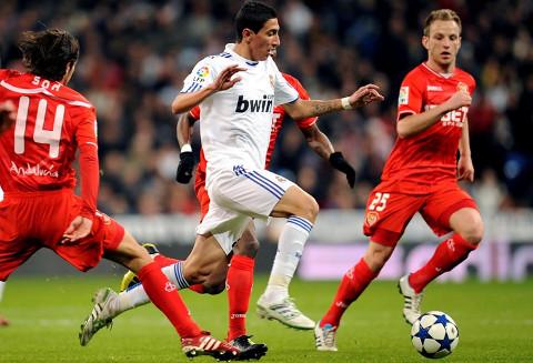 Imagen de un Real Madrid-Sevilla reciente.