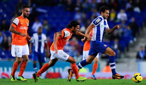 Imagen del Espanyol-Málaga de la temporada pasada.