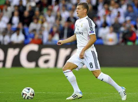 Toni Kroos, fichaje destacado del Real Madrid.