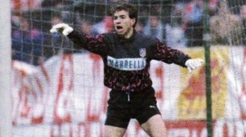 Abel (Atlético de Madrid) tiene el récord de imbatibilidad de la Liga.