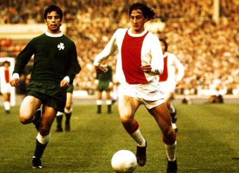 Johan Cruyff es el jugador más grande que ha dado el Ajax.