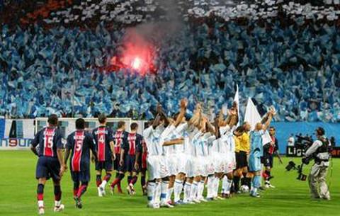 'Le Classique' (Francia), enfrenta al Olympique de Marsella y al PSG.
