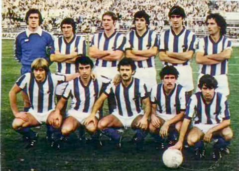 La Real Sociedad encadenó 38 partidos sin perder entre 1978 y 1980.