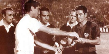 El primer derbi en Liga se disputó en la temporada 1963/1964.