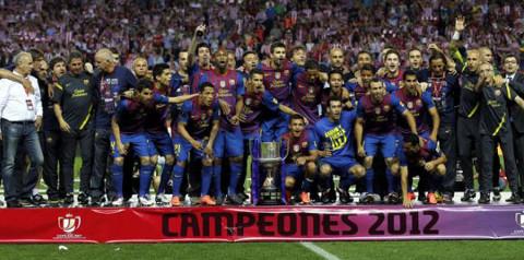 El Barcelona es el equipo con más títulos de Copa (26).