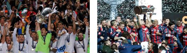Real Madrid y San Lorenzo, los grandes favoritos para esta edición.