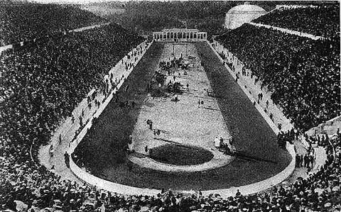 Atenas acogió en 1896 los primeros JJ.OO de la era moderna.