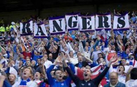 Aficionados del Rangers.