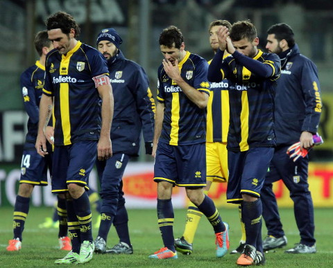El Parma italiano está en quiebra y cerca de desaparecer.