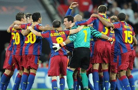 El Barcelona ganó su última Liga de Campeones en el año 2011.