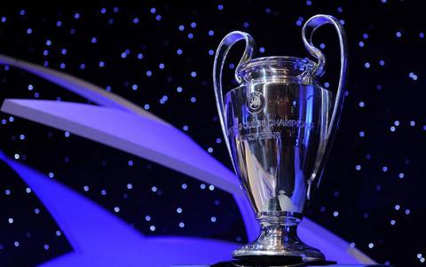 Imagen de la copa que que se entrega al ganador de la Liga de Campeones.