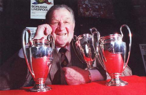 Paisley hizo historia ganando 3 Copas de Europa.