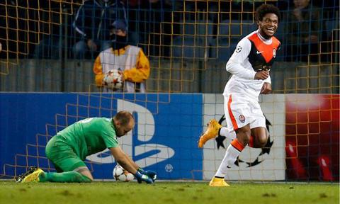 Luiz Adriano, historia de la Champions con su 'repoker'.