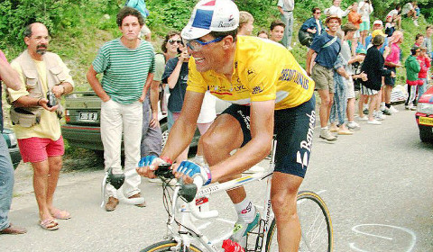 Miguel Indurain, ganador de cinco Tours de Francia