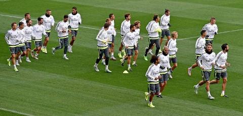 El Real Madrid está concentrado en Australia.